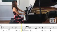 Ave_Maria_in_C_for_alto_ALL Piano Accompaniment Video