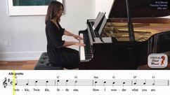 Christmas Carols Piano Accompaniment Video