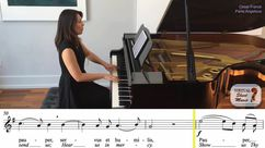 Panis Angelicus Piano Accompaniment Video